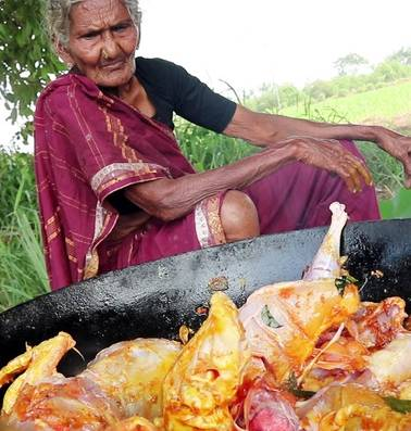 Karre Mastanamma (1911-2018) stond op haar 105de aan het begin van glansrijke kookcarrière