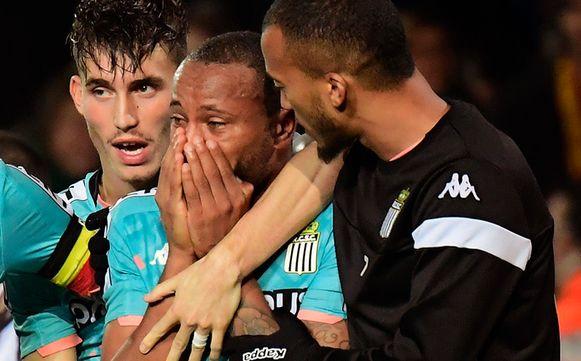Marco Ilaimaharitra aangeslagen door racistische opmerkingen na de wedstrijd KV Mechelen - Charleroi