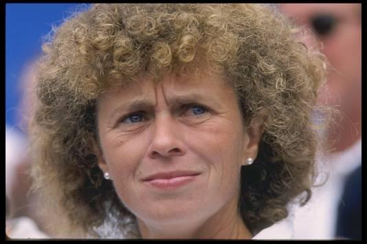Melanie Hingis, de moeder van Martina.