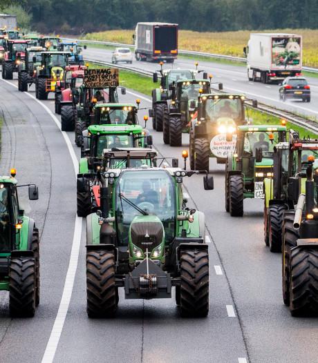 Rijkswaterstaat: mijd morgenochtend snelwegen rond Utrecht vanwege boerenprotest