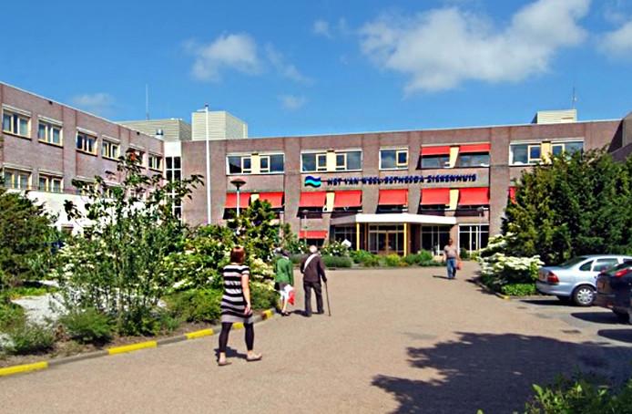 Het Van Weel-Bethesda Ziekenhuis in Dirksland.