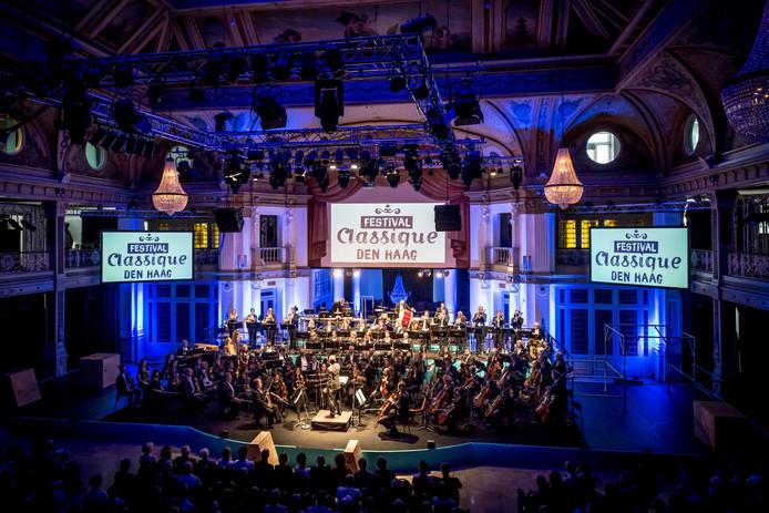 Het Residentie Orkest in de Kurzaal tijdens Festival Classique in 2016