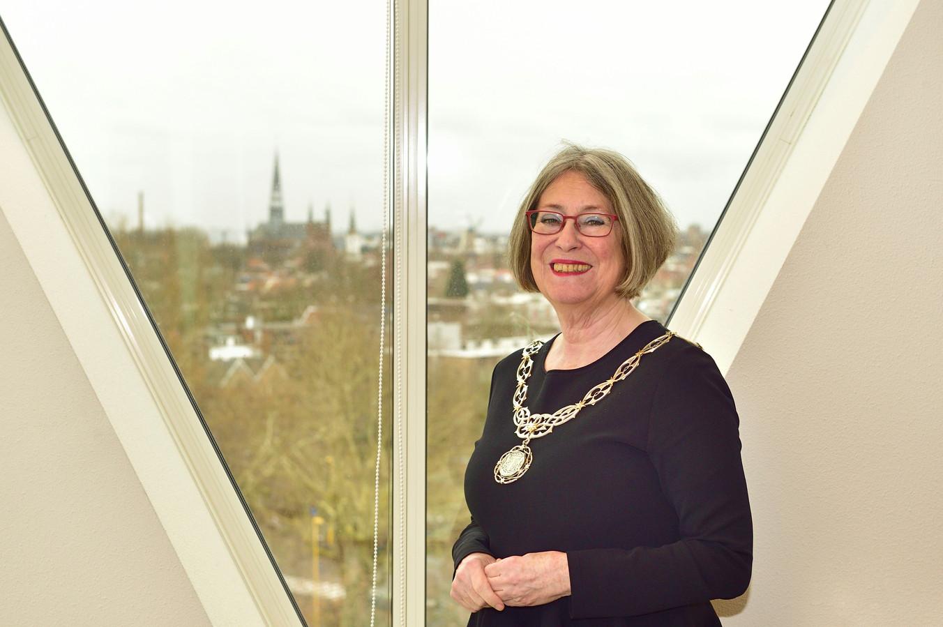 Waarnemend burgemeester Mirjam Salet van Gouda