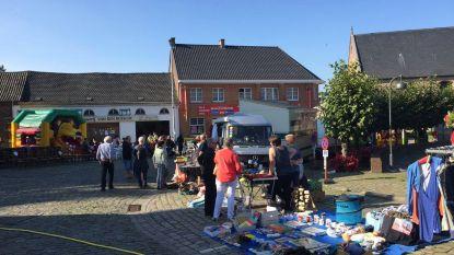Rommelmarkt bij gezinsbond