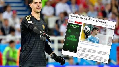 """Toonaangevende Spaanse sportkrant Marca eindelijk op spoor van onze nationale doelman: """"Alle wegen van Real Madrid leiden naar Courtois"""""""