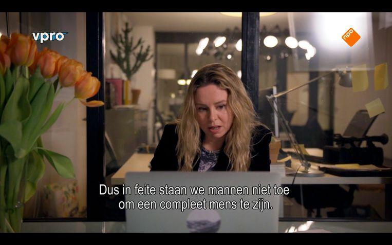 Sunny Bergman in 'Man Made'. Beeld