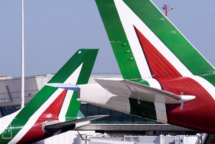 Bij het noodlijdende Alitalia gaan mogelijk duizend banen verloren.