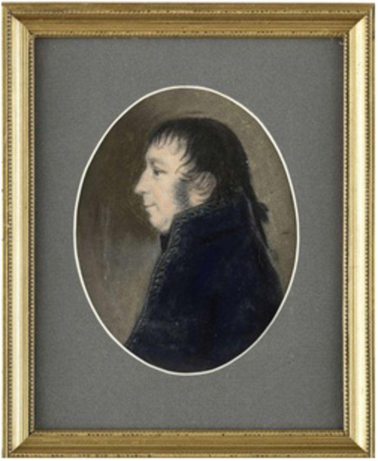 Schilderij Albert Kikkert, vice-admiraal en gouverneur Beeld Rijksmuseum Amsterdam