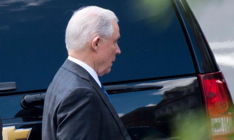 Jeff Sessions: publiekelijk aan de schandpaal genageld. Beeld null