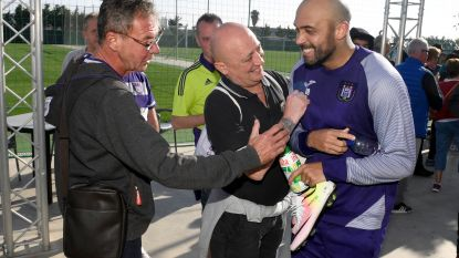 Fans geven VdB warm welkom