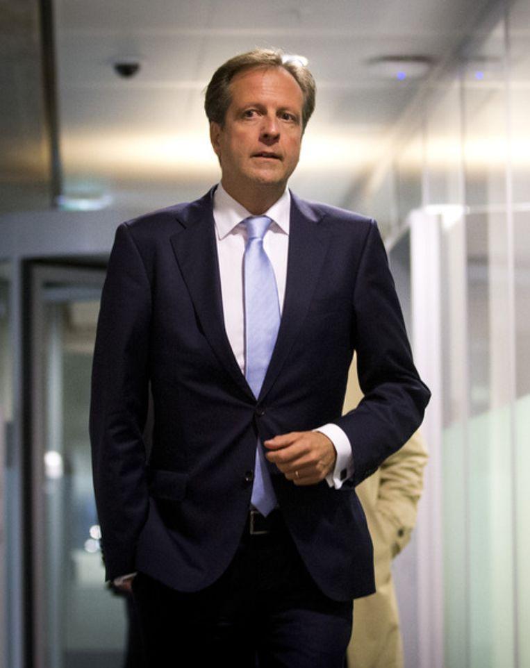 D66-leider Alexander Pechtold. Beeld null