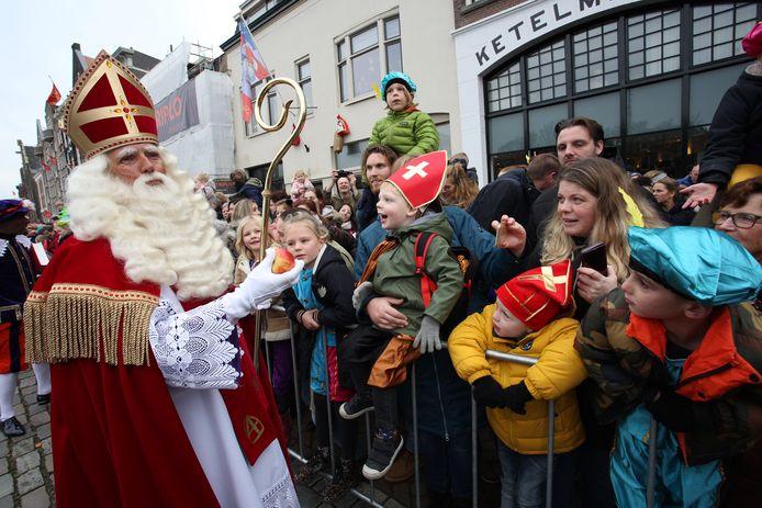 Sinterklaas meert dit jaar helemaal niet meer aan in Dordrecht.