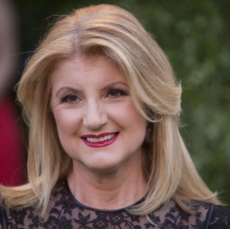 Oprichtster van The Huffington Post Ariana Huffington.