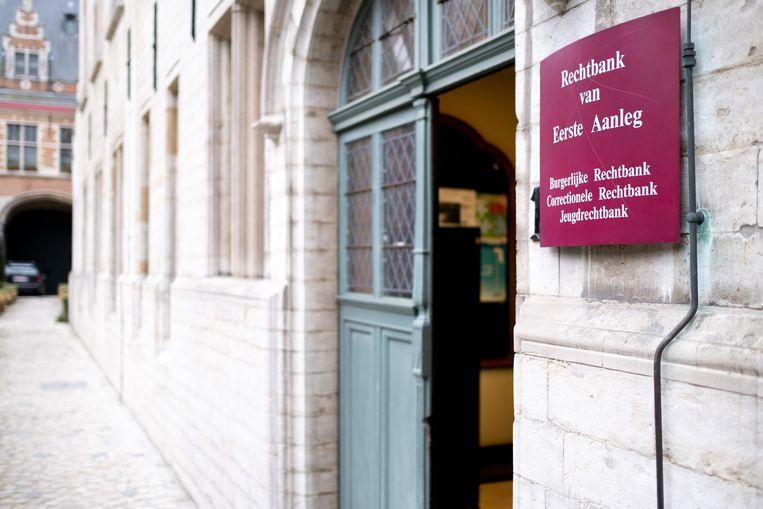 De rechtbank van eerste aanleg in Mechelen