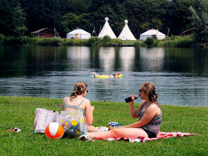 Het Lingebos is een populair recreatiegebied. Foto ter illustratie.
