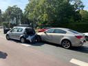 Bij het andere ongeval waren vier auto's betrokken.