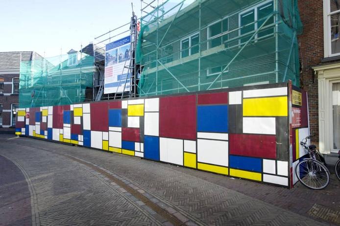Winterswijk = Mondriaan; nu ook via een jubileumcadeau van Philips Lighting aan het SKB