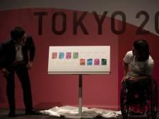 Olympische tickets in kleuren seizoenen Japan