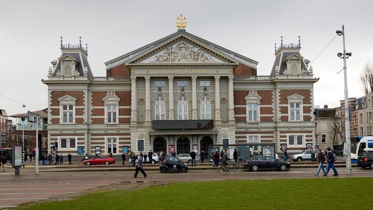 Zeshonderd kinderen treden op in het Concertgebouw Beeld anp