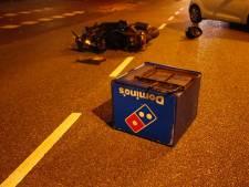 Pizzabezorger gewond door ongeluk met auto in Eindhoven