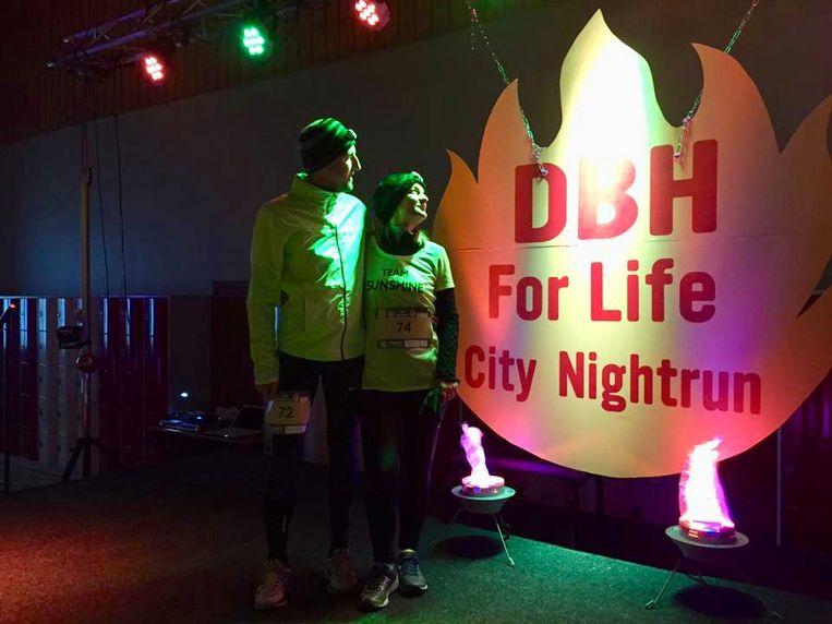 De City Nightrun vond in 2018 voor het eerst plaats.