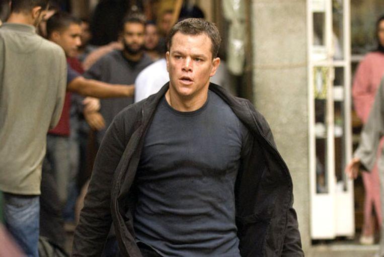 Matt Damon in The Bourne Supremacy. Beeld Jantien Harmsen