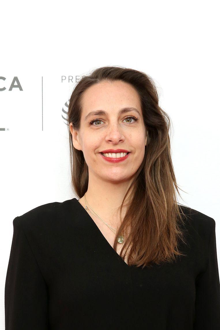 Filmmaak-ster Carine Bijlsma: 'We zijn twee keer de hele wereld rond geweest.' Beeld Getty Images for Tribeca Film Fe