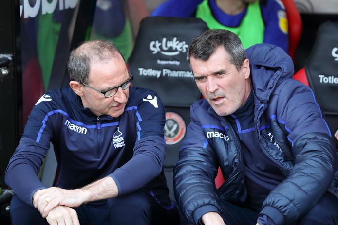 Martin O'Neill en Roy Keane.