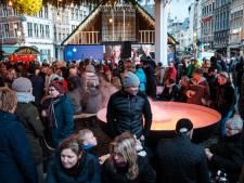La grande roue de Winter in Antwerpen touchée par une panne électrique