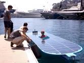 Solar Boat Twente grijpt net naast podium bij NK in Akkrum