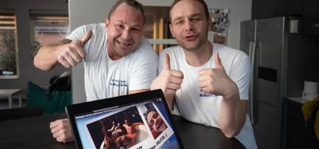 Klussers uit Kampen schitteren in hilarisch reclamespotje: 'John de Mol mag altijd bellen'