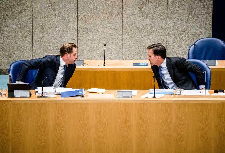 De Jonge wil VVD-leider Mark Rutte opvolgen als premier.  Beeld ANP