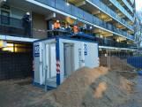 Noodlift voor negen etages moet binnen dag klaar zijn na flatbrand Arnhem