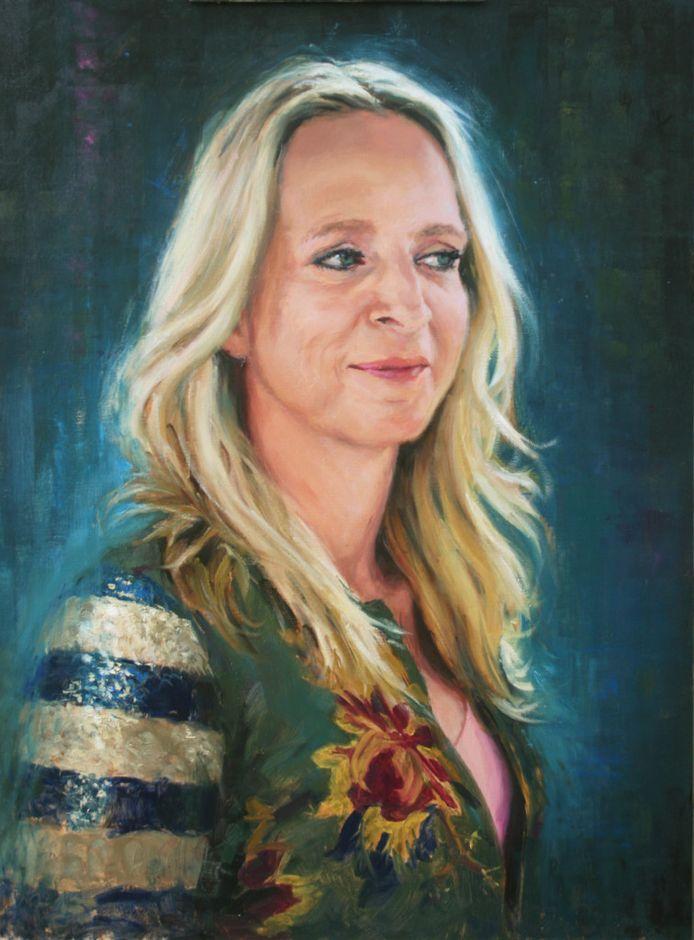 Het winnende portret van de Megense schilder.