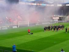 Willem II luidruchtig uitgeluid door fans