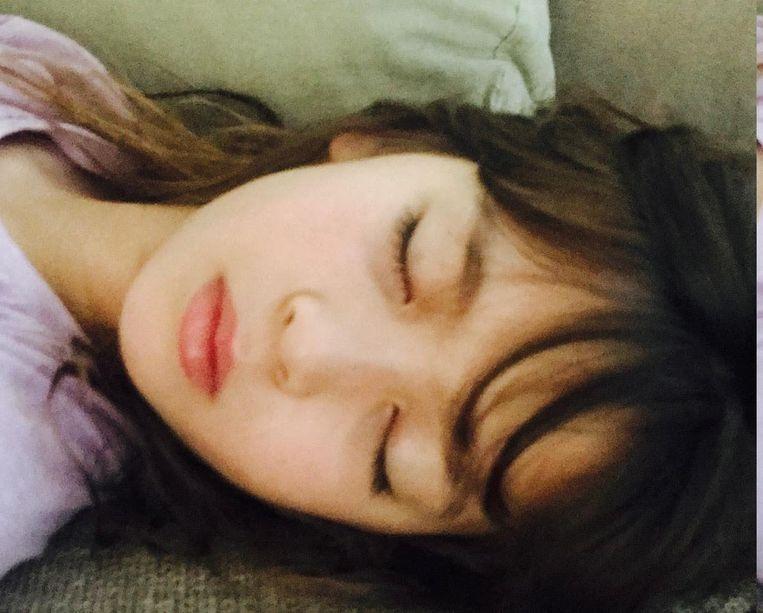 'Ik slaap slecht. Ik val vooral even in slaap wanneer ik mijn dochter naar bed breng.' Beeld