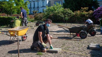 Tuinbouwstudenten en dierenverzorgers weer aan de slag in Tuinbouwschool Melle