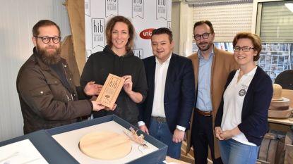 UNIZO Limburg reikt 'Handmade In Belgium'-label uit aan Truiense Rayah Wauters