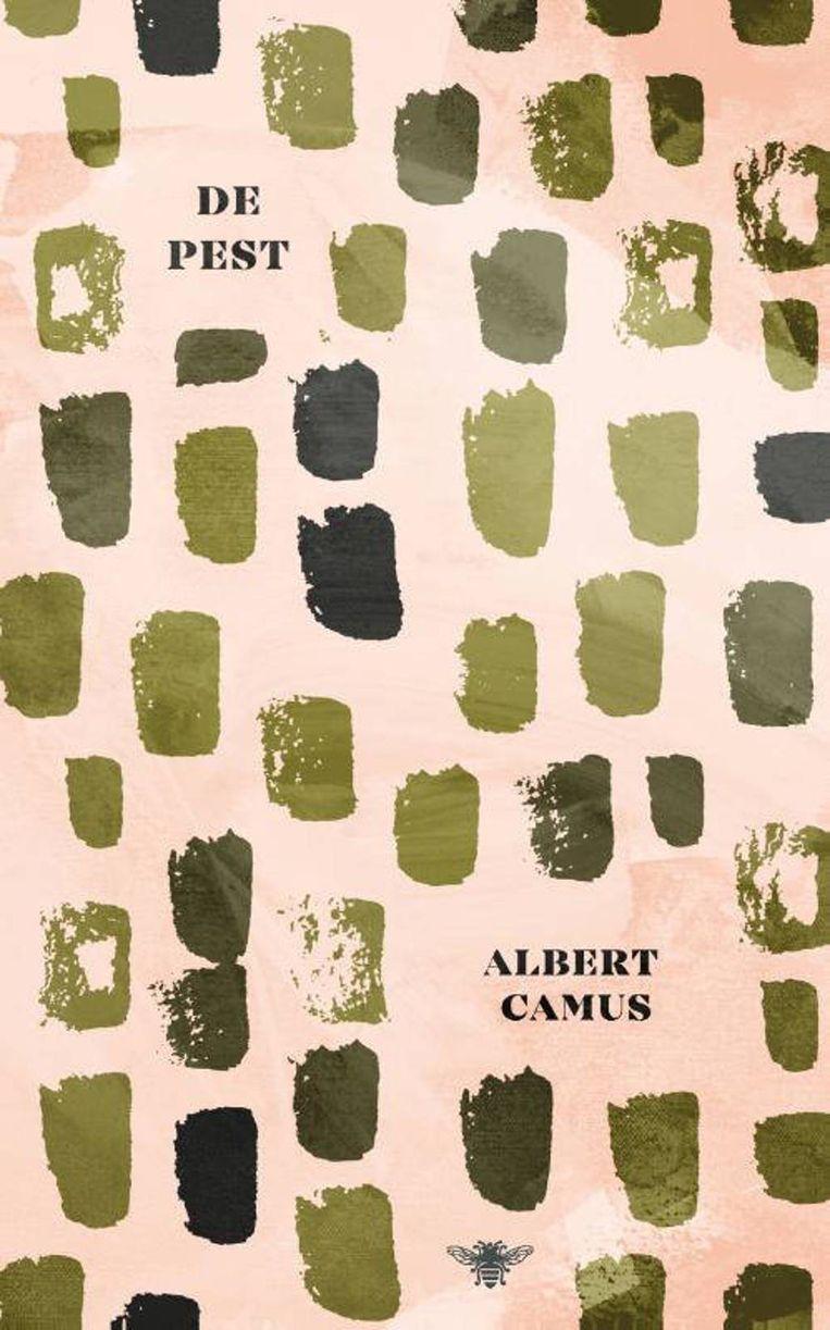 De omslag van De pest van Albert Camus. Beeld
