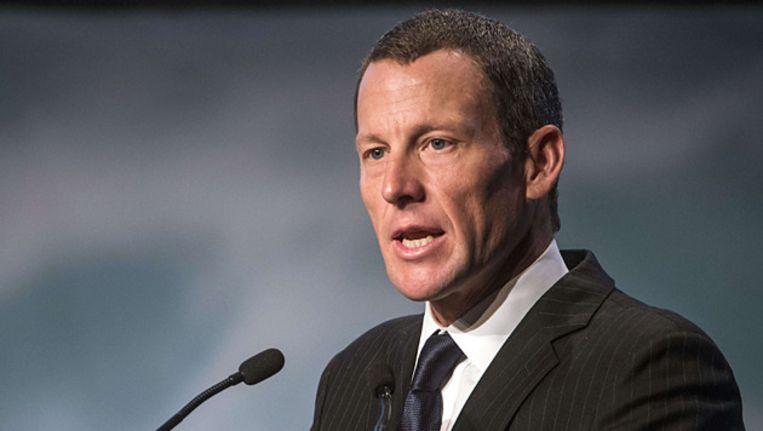 Lance Armstrong. Beeld FOTO AFP