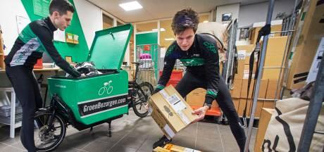 GroenBezorgen Uden trapt stevig door met post en pakketjes