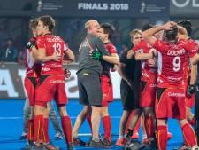 Hockeycoach Michel van den Heuvel: 'Met veel plezier nog een jaar assistent-coach van België'