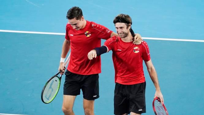 Gillé en Vliegen mogen naar kwartfinales dubbelspel op US Open