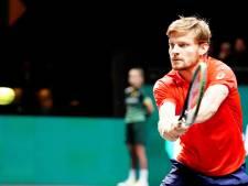 L'Ultimate Tennis Showdown, avec David Goffin en ouverture, débutera finalement le 13 juin