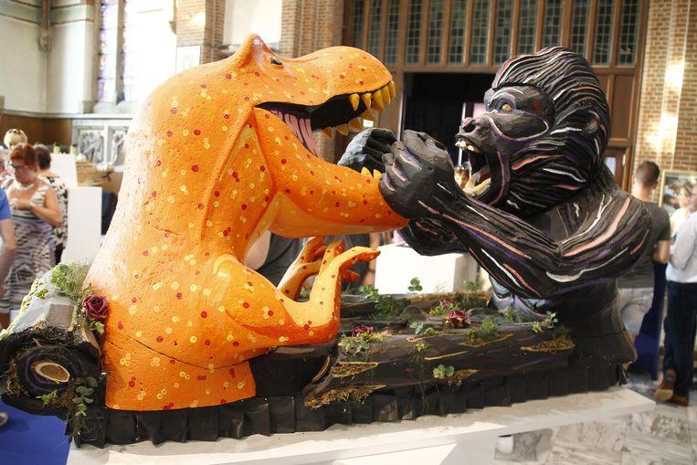 King Kong zal ook in de stoet te zien zijn.