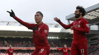 Liverpool blijft in zog van Manchester City na treffers Mané en Firmino