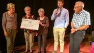 2.500 euro voor Kom op tegen Kanker dankzij 'Hogteneers'