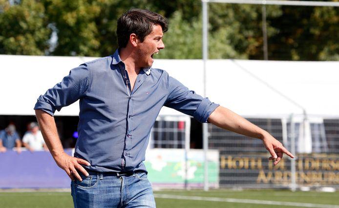 Hoek-trainer Lieven Gevaert.