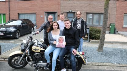 """Familie wil laatste wens van Marina vervullen: """"Escorte naar crematorium met motards was haar droom"""""""