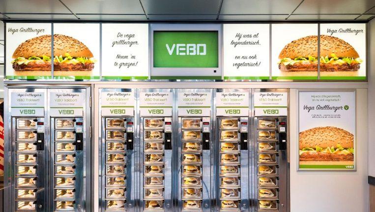 De Febo lanceert een vegetarische variant van de grillburger Beeld Febo